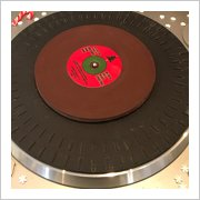 Chocolate Vinyl Record Christmas